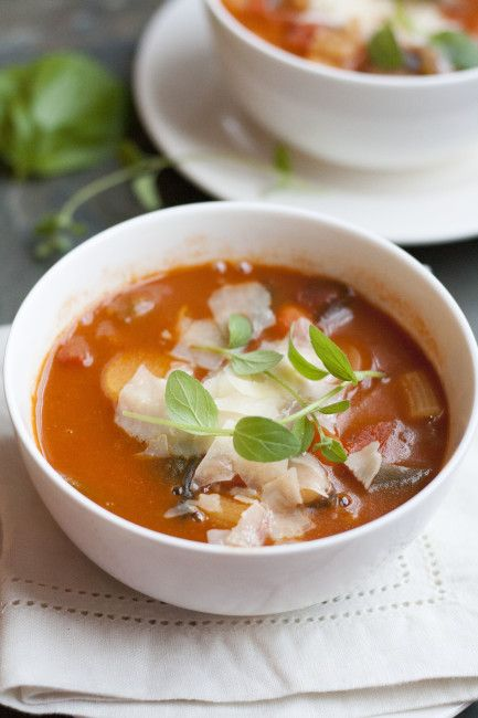 Mushroom Minestrone Soup plus 60+ Parsnip Recipes