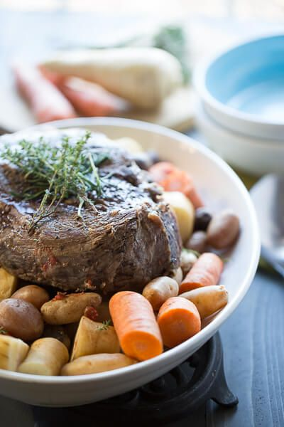 Crockpot Pot Roast plus 60+ Recipes for Parsnips