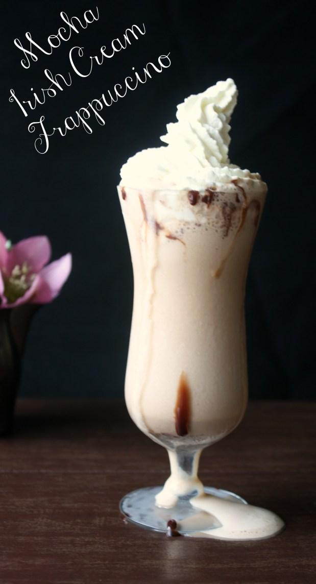 Mocha Irish Cream Frappuccino.