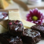 Salted Chocolate Dipped Shortbread Cookies 1