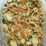 Green Bean Brussels Sprout Casserole 1