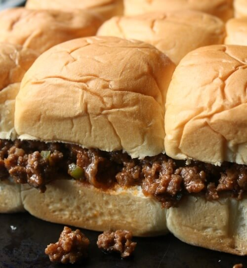 Pull Apart Sloppy Joe Sliders