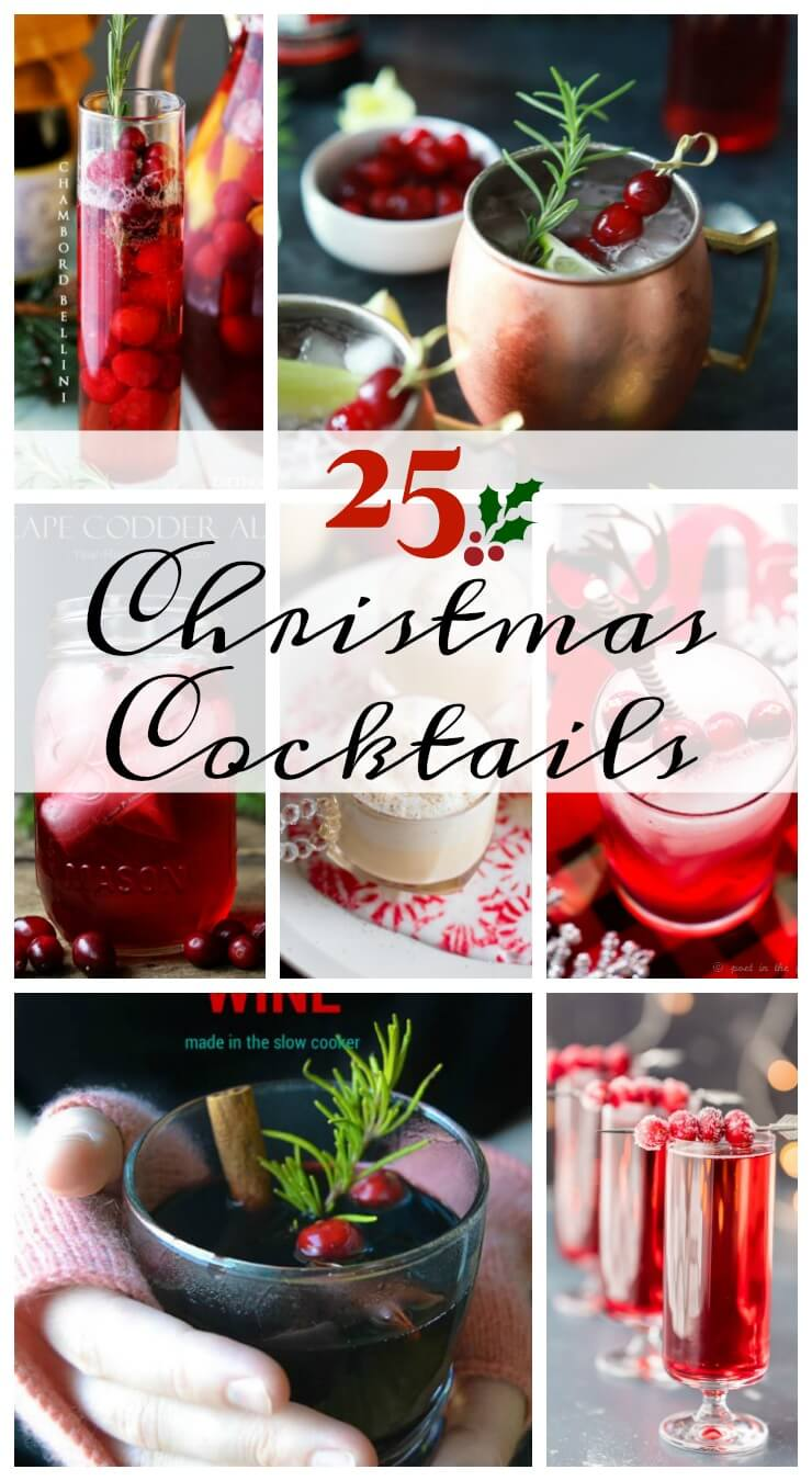 25 Christmas Cocktail Recipes Daily Appetite