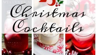25 Christmas Cocktail Recipes