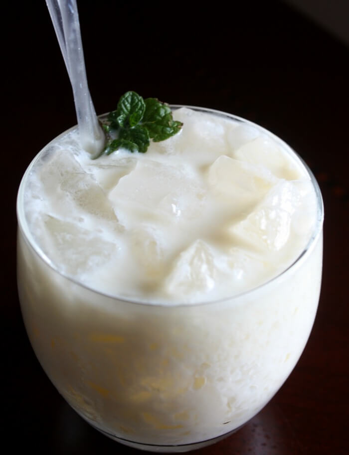 Pineapple Coconut Rum Chata Cocktail