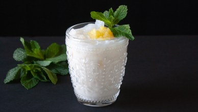Pineapple and RumChata Cocktail