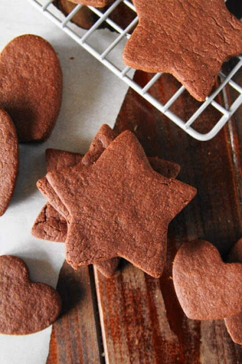 Chocolate Sugar Cookies + 20 more Chocolate Cookie Recipes