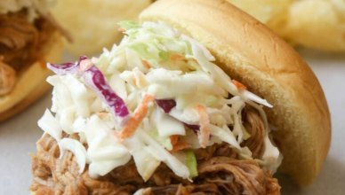Slow Cooker BBQ Pulled Pork Sandwiches 7