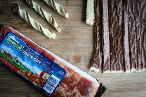 Chocolate Bacon Twists