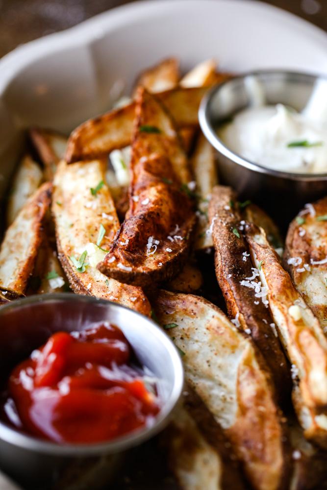 Air Fryer Potato Wedges
