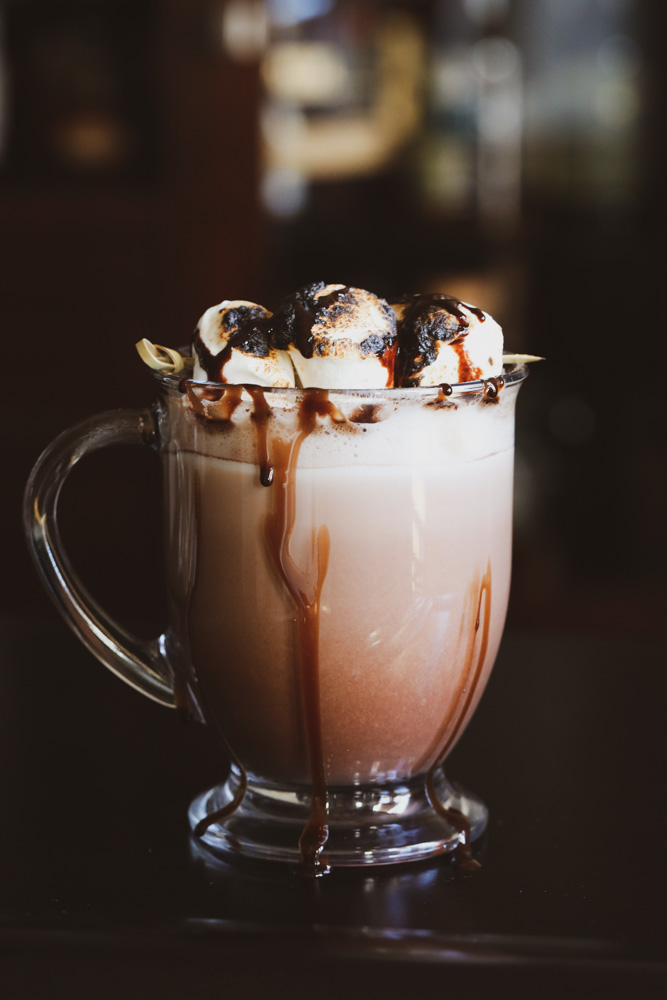 Spiked Boozy Hot Chocolate