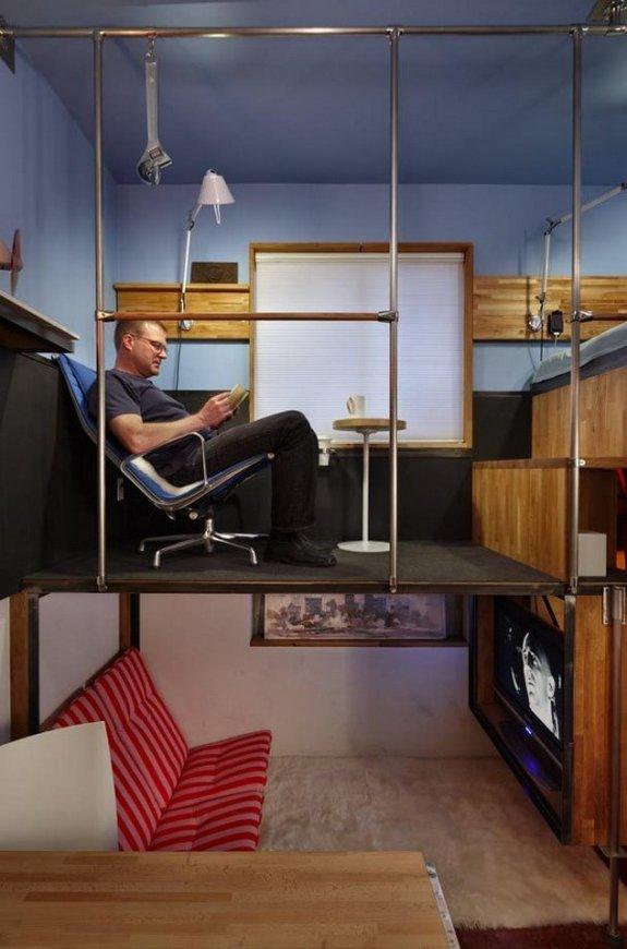 Smallest Apartment Ever 02 In 182 Square Foot Design