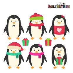 penguins clip cartoons hub dailyarthub