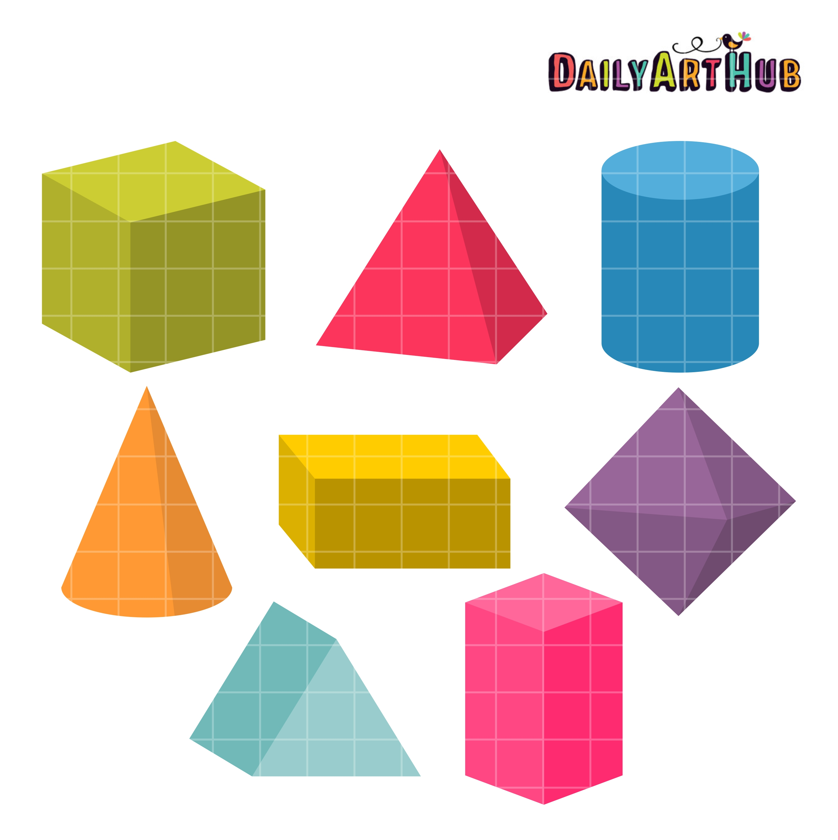 3d Shapes With Graphing Worksheet