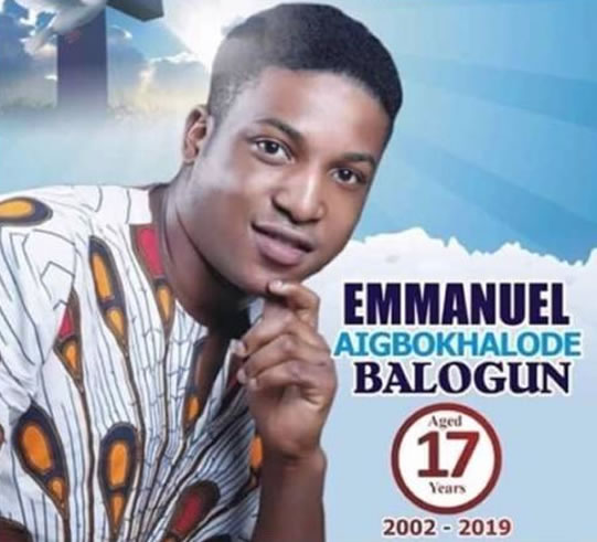 The Drowning of Emmanuel Balogun