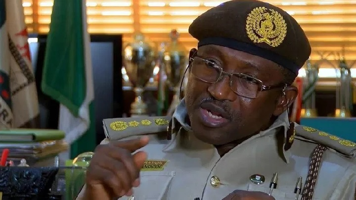 Comptroller General of the Nigerian Immigration Service, Muhammad Babandede