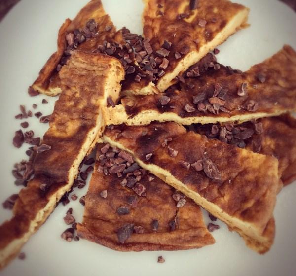 Paleo Pumpkin Pie Pancakes