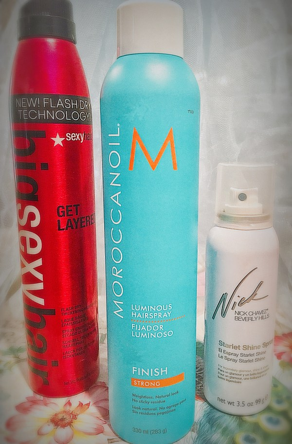This Hairspray May Help You Consolidate Styling Products!