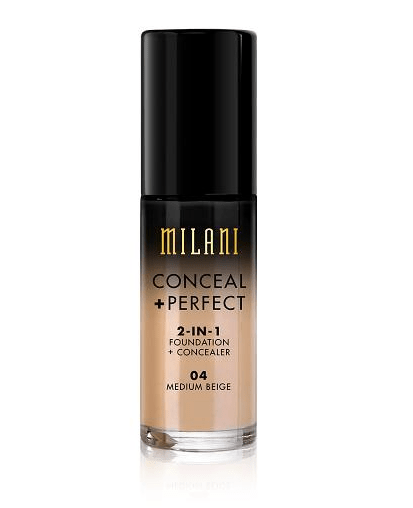 MILANI Conceal+Perfect 2-in-1 Foundation+Concealer. Photo from Milani.com