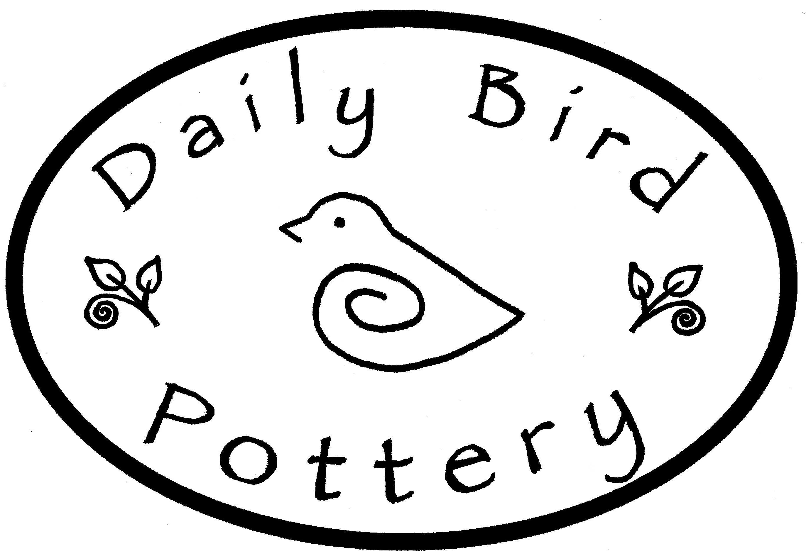 Daily Bird Pottery « Darby throws, Phoebe sculpts, a work