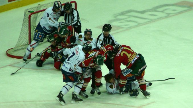 hockey bench clearing brawl 28 images richmond minor