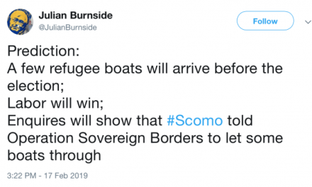 POD Refugees not welcome in the virtue signal capital of Australia