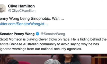 ScoMo's defence of Liu is despicable