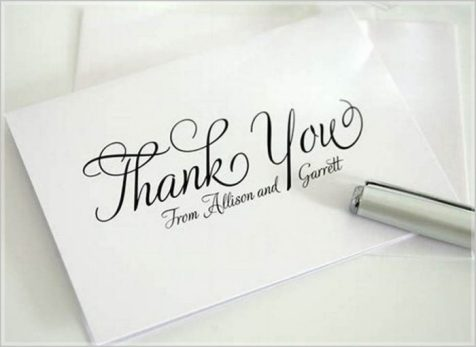 Wedding thank you cards messages : Ideas