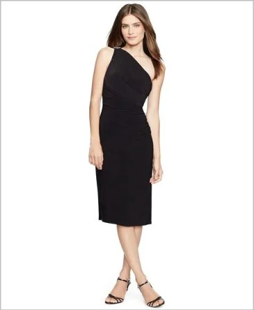 macy's long black evening dresses