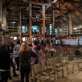 wedding venues in New Hampshire's - Ogontz Camp and Event Center 1
