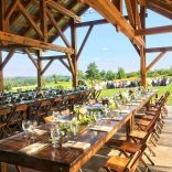 wedding venues in missouri - westonredbarnfarm 1