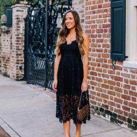 black dress to attend wedding