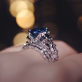Jeulia wedding rings