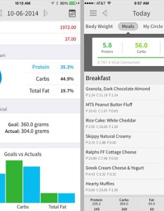 My macros food diary app also apps to track on the go rh dailyburn