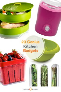 20 Kitchen Gadgets to Make Healthy Eating Easy - Daily Burn