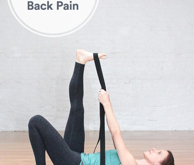 Yoga Poses To Help Ease Lower Back Pain