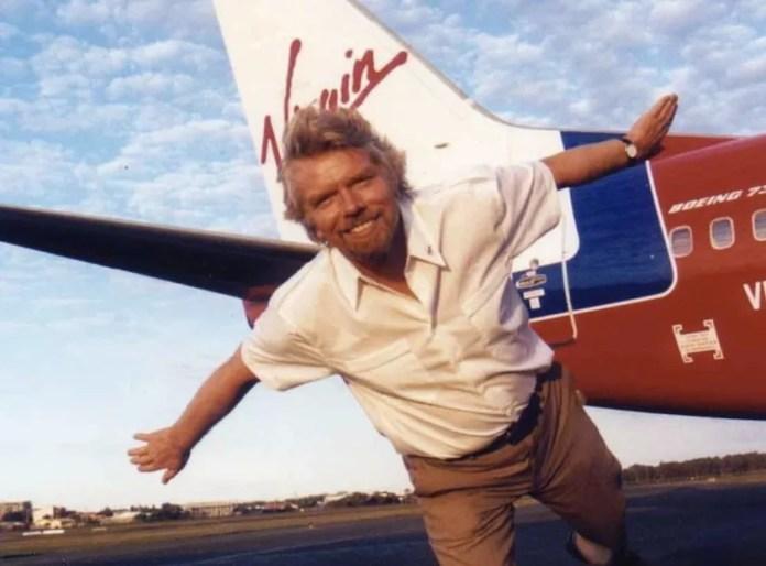 Branson and Virgin website