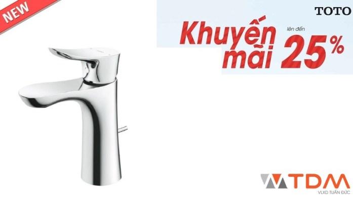 Vòi lavabo TOTO tại Rạch Giá Kiên Giang