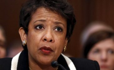 U.S. Attorney General Lynch testifies before a Senate Appropriations Subcommittee hearing on the Justice Department's role in implementing new executive actions related to gun control at Capitol Hill in Washington