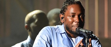 Kendrick Lamar performs at the Grammys