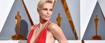 Charlize Theron's Oscars dress