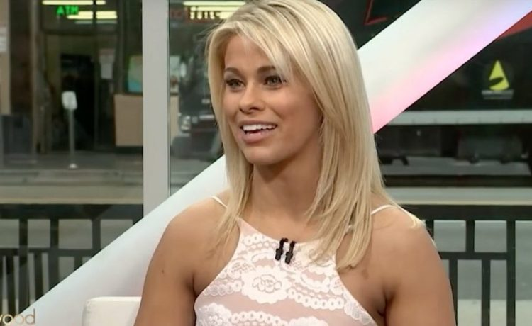 Paige VanZant (Credit: Screenshot/Youtube Hollywood Today Live)