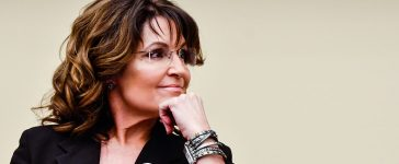 """Sarah Palin speaks during the """"Climate Hustle"""" panel discussion at the Rayburn House Office Building (Getty Images)"""