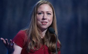 Chelsea Clinton delivers a speech during the annual Clinton Global Initiative on September 21, 2016 in New York City. Former President Bill Clinton defended the foundation, founded in 2005, at the final CGI meeting
