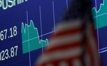 A screen shows the Dow Jones Industrial Average after the close of trading on the floor of the New York Stock Exchange (NYSE) in New York City, U.S., November 22, 2016. REUTERS/Brendan McDermid