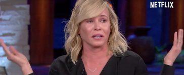 Chelsea Handler crying (Photo: Netflix screen grab)