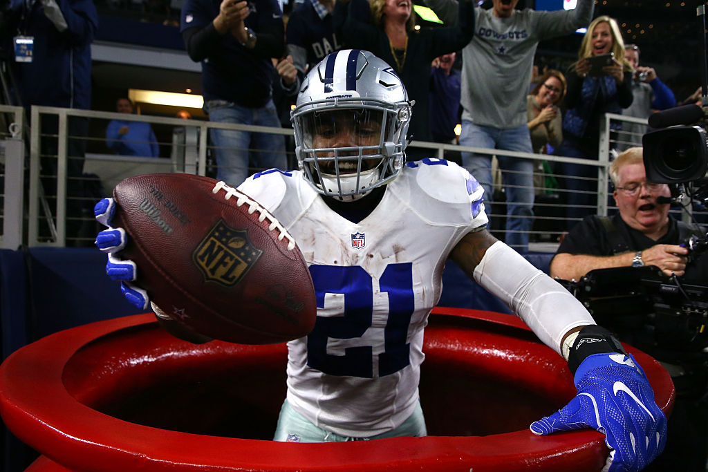 Ezekiel Elliott (Photo credit: Getty Images)