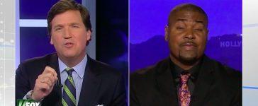 Tucker Carlson, Tariq Nasheed (Fox News)