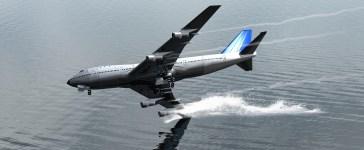 Illustration of a plane crashing into ocean (Photo: Oscar Moncho/Shutterstock)