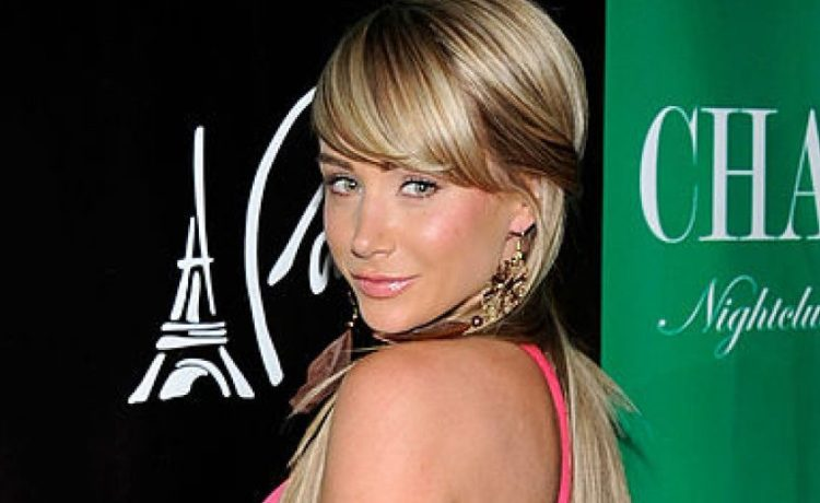 2007 Playboy Playmate of the Year Sara Jean Underwood arrives at the Chateau Nightclub & Gardens at the Paris Las Vegas April 30, 2011 in Las Vegas. (Photo by Ethan Miller/Getty Images)